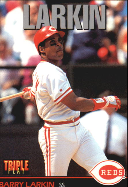 1993 Triple Play #31 Barry Larkin