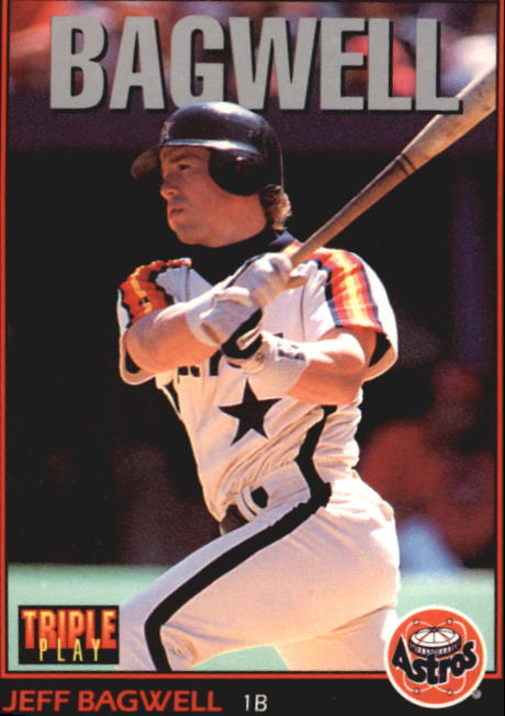 1993 Triple Play #43 Jeff Bagwell