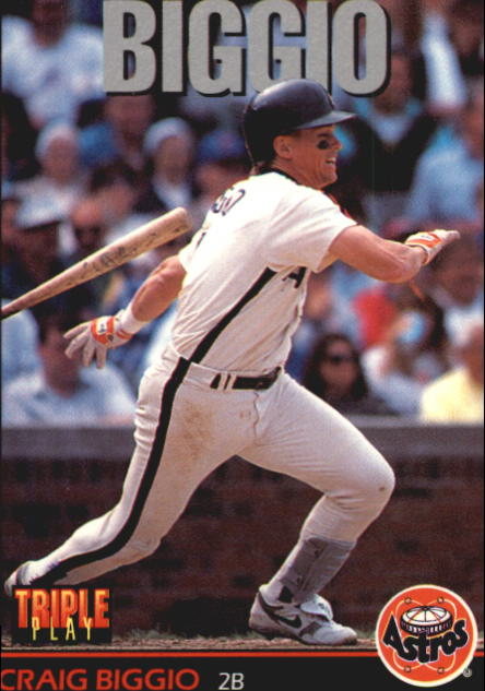 1993 Triple Play #100 Craig Biggio