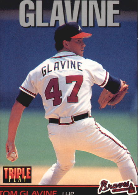 1993 Triple Play #117 Tom Glavine