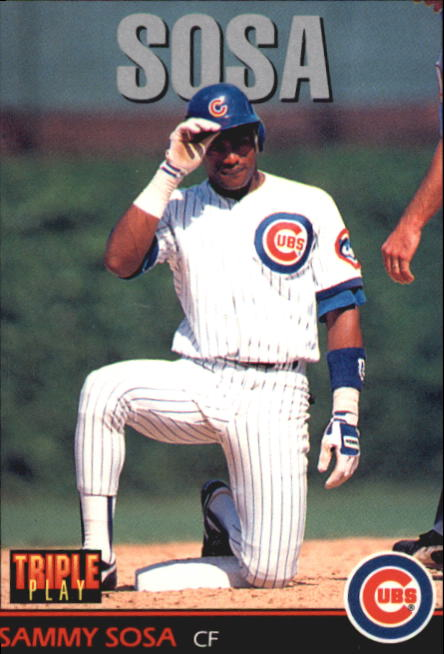 1993 Triple Play #151 Sammy Sosa