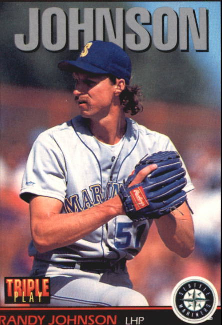 1993 Triple Play #167 Randy Johnson