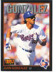1993 Triple Play #221 Juan Gonzalez