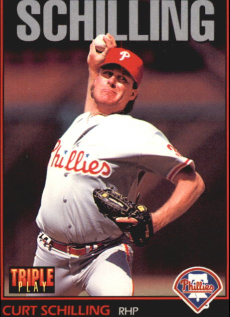 1993 Triple Play #230 Curt Schilling