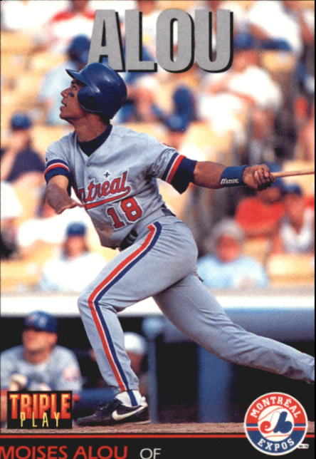 1993 Triple Play #244 Moises Alou
