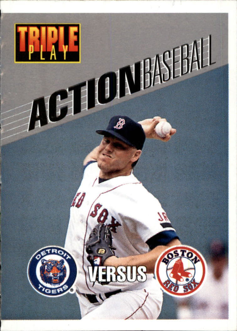 1993 Triple Play Action #14 Roger Clemens