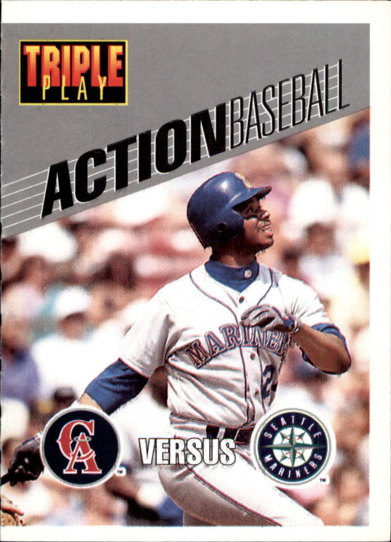 1993 Triple Play Action #24 Ken Griffey Jr.