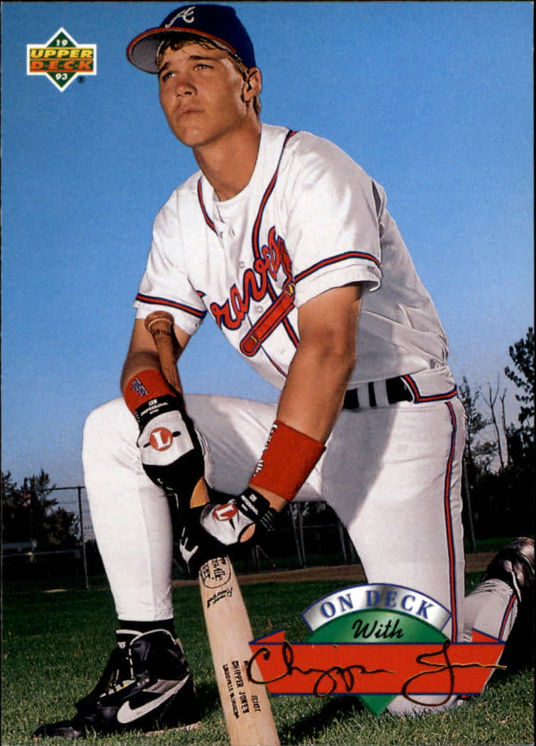 1993 Upper Deck On Deck #D16 Chipper Jones