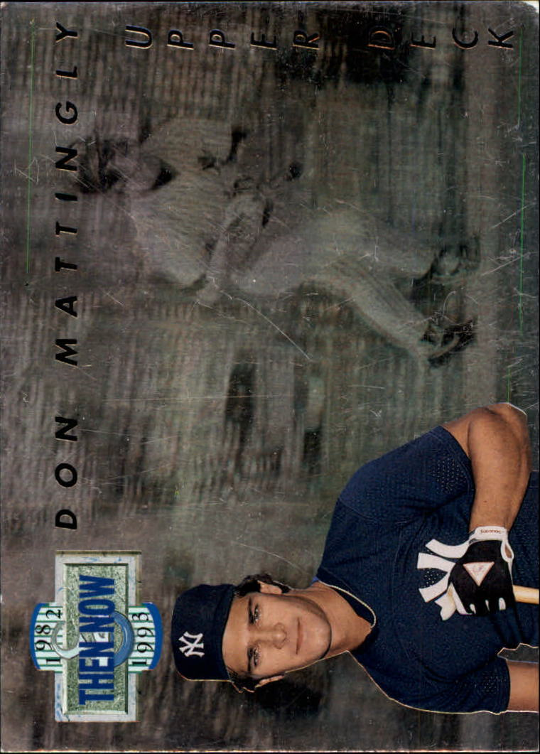 1993 Upper Deck Then And Now #TN13 Don Mattingly
