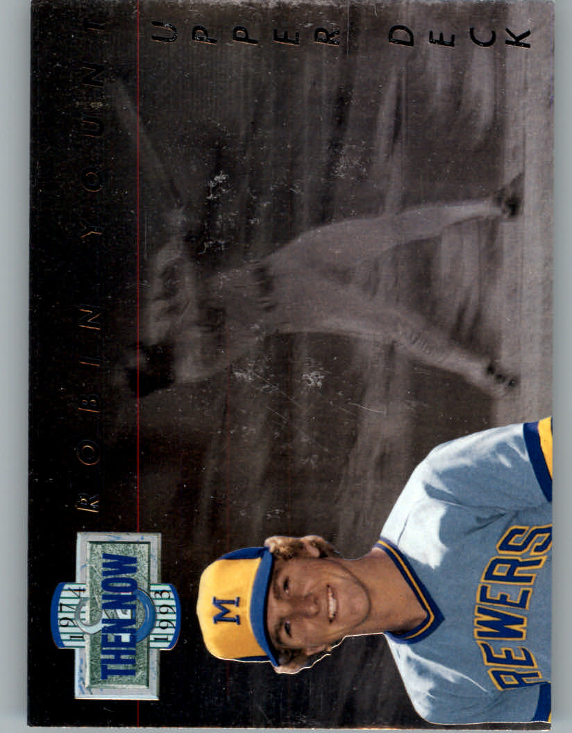 1993 Upper Deck Then And Now #TN15 Robin Yount