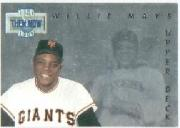 1993 Upper Deck Then And Now #TN18 Willie Mays