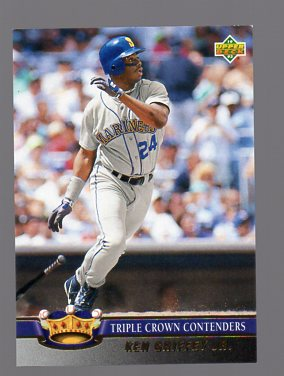 1993 Upper Deck Triple Crown #TC4 Ken Griffey Jr.