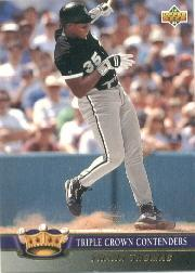 1993 Upper Deck Triple Crown #TC9 Frank Thomas