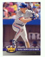 1993 Upper Deck Triple Crown #TC10 Larry Walker