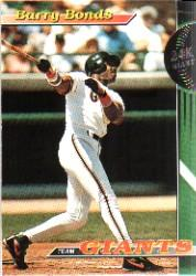 1993 Giants Stadium Club #1 Barry Bonds
