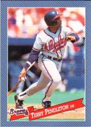 1993 Hostess #9 Terry Pendleton