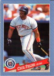 1993 Hostess #16 Cecil Fielder