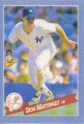 1993 Hostess #28 Don Mattingly