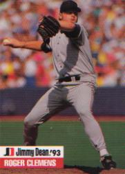 1993 Jimmy Dean #7 Roger Clemens