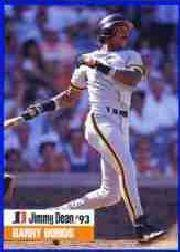 1993 Jimmy Dean #10 Barry Bonds