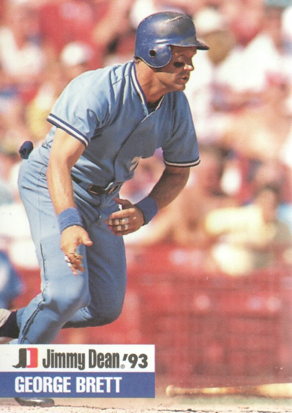 1993 Jimmy Dean #15 George Brett
