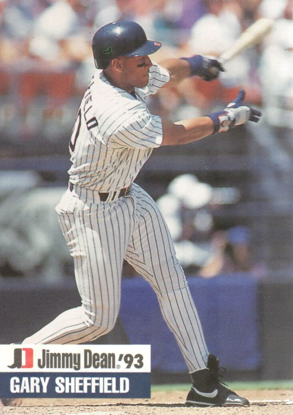 1993 Jimmy Dean #18 Gary Sheffield