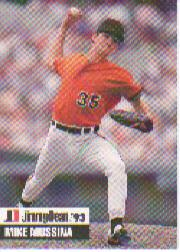 1993 Jimmy Dean #27 Mike Mussina