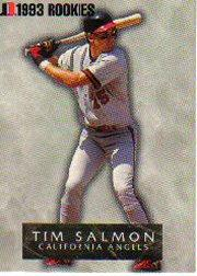 1993 Jimmy Dean Rookies #9 Tim Salmon