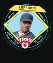1993 King-B Discs #1 Barry Bonds