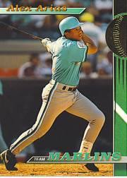 1993 Marlins Stadium Club #4 Alex Arias