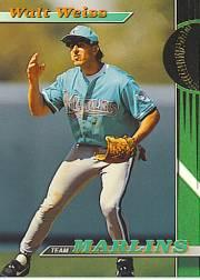 1993 Marlins Stadium Club #5 Walt Weiss