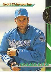 1993 Marlins Stadium Club #7 Scott Chiamparino