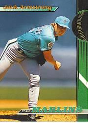 1993 Marlins Stadium Club #9 Jack Armstrong