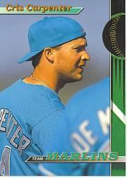 1993 Marlins Stadium Club #11 Cris Carpenter