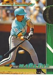 1993 Marlins Stadium Club #12 Benito Santiago