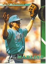 1993 Marlins Stadium Club #13 Jeff Conine
