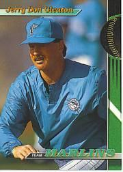 1993 Marlins Stadium Club #14 Jerry Don Gleaton