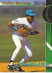 1993 Marlins Stadium Club #17 Ramon Martinez