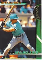 1993 Marlins Stadium Club #18 Bret Barberie