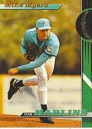 1993 Marlins Stadium Club #22 Mike Myers