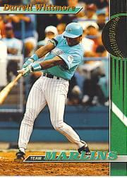 1993 Marlins Stadium Club #24 Darrell Whitmore
