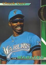 1993 Marlins Stadium Club #25 Chuck Carr
