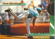 1993 Marlins Stadium Club #28 Jose Martinez