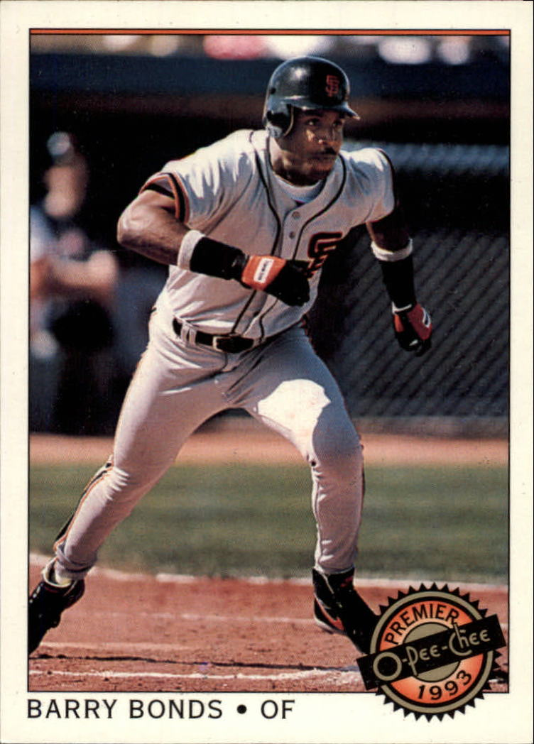 1993 O-Pee-Chee Premier #1 Barry Bonds