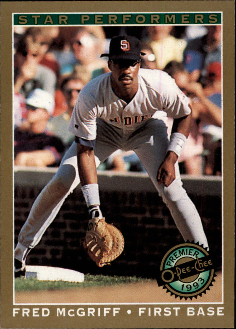 1993 O-Pee-Chee Premier Star Performers #2 Fred McGriff
