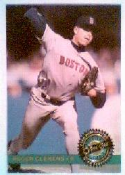 1993 O-Pee-Chee Premier Star Performers Foil #18 Roger Clemens