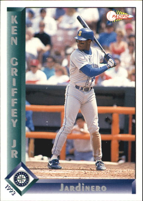 1993 Pacific Spanish #286 Ken Griffey Jr.
