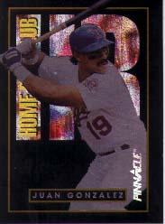 1993 Pinnacle Home Run Club #1 Juan Gonzalez