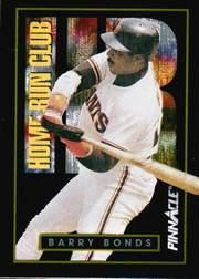 1993 Pinnacle Home Run Club #4 Barry Bonds