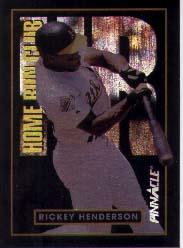 1993 Pinnacle Home Run Club #21 Rickey Henderson